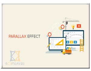 parallax effekt WordPress